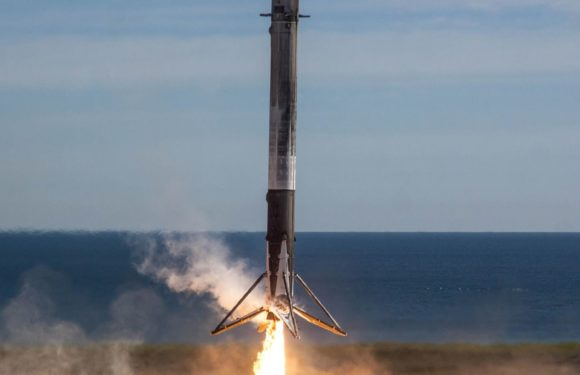 SpaceX won U.S. military approval for launching on the reusable Falcon Booster
