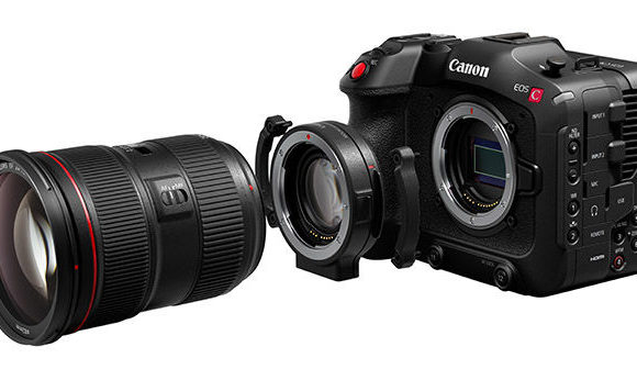 Canon uncovers EOS C70 RF Mount Cine Camera and EF-to-RF Speedbooster