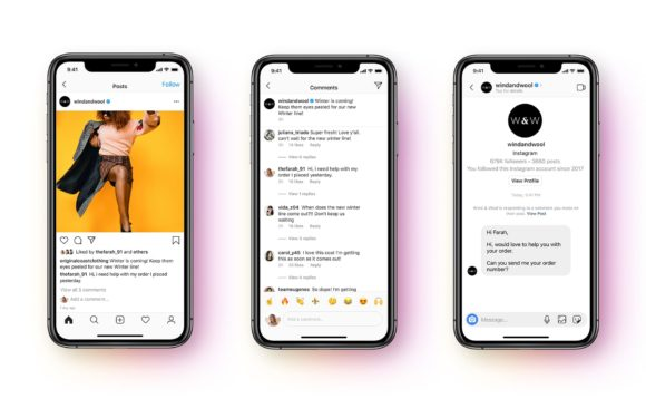 Client service chats are coming to Instagram DMs