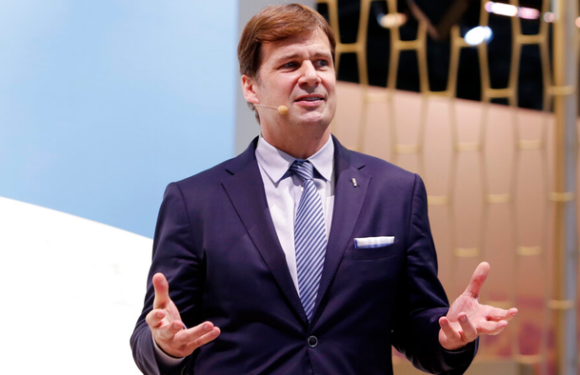 5 things CEO Jim Farley told Ford workers on his first day