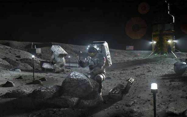 Got some signal here? Nokia will build a mobile network on the moon