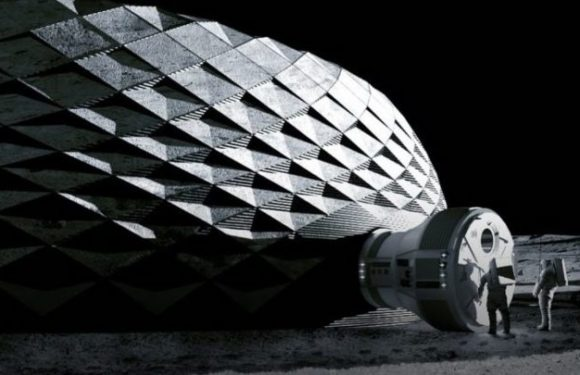 """The Texas company is targeting 3D-printed buildings on the moon with """"Project Olympus"""""""