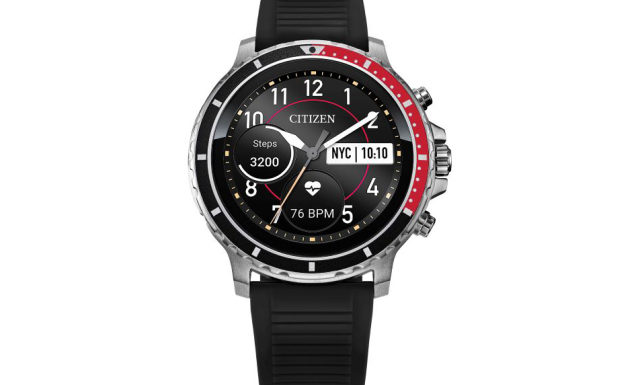 """Citizen's first """"Wear OS smartwatch"""" is the sporty CZ Smart"""