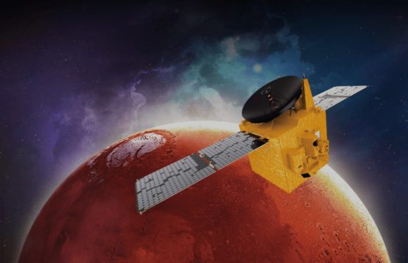 The UAE's first Mars probe will arrive at the Red Planet on Feb.9
