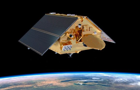 See the largest Earth-observation satellite ever launch in space