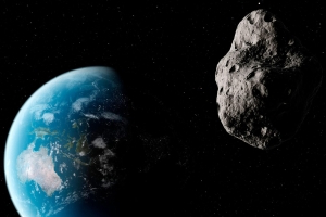 A smaller asteroid than the SpaceX Starlink satellites came very close to Earth