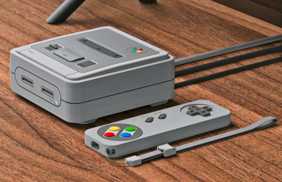 Convert your Apple TV to Super Nintendo with elago's new cases